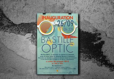 AFFICHE BASTILLE OPTIC